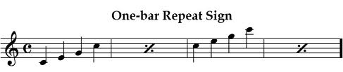 repeat signs