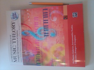 best music theory book: alfred's essentials of music theory