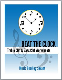 treble clef and bass clef worksheets