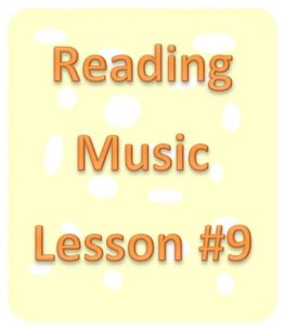 reading music lesson 9