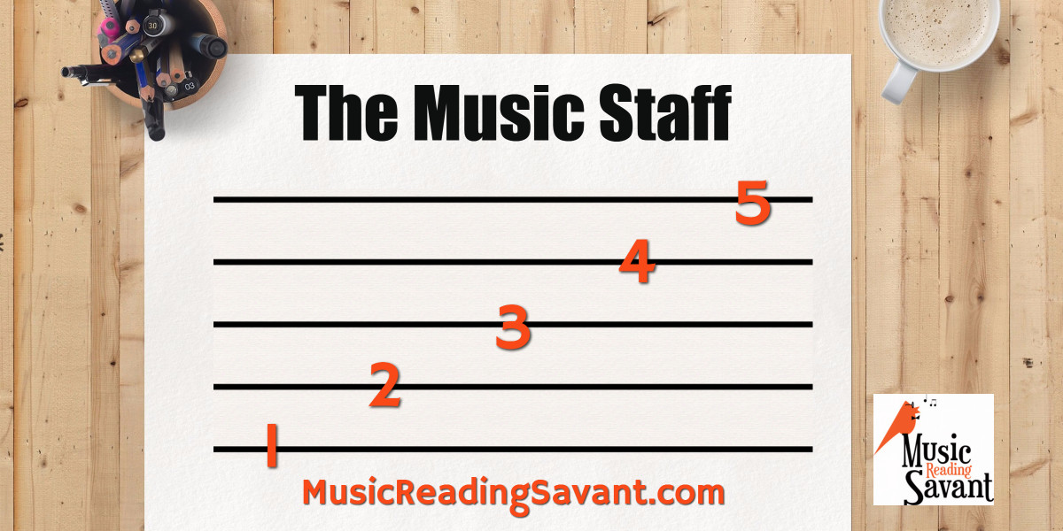 The Music Staff Lines