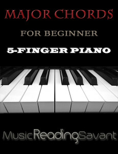 Major Chords For Beginner 5-Finger Piano
