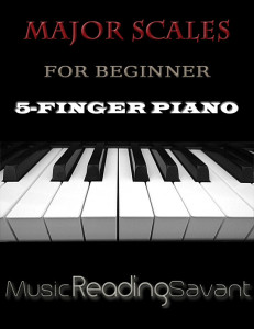 Major Scales For Beginner 5-Finger Piano