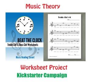 music theory worksheet project