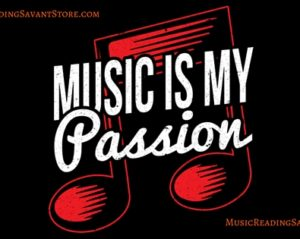 Music Is My Passion Music Apparel Collection