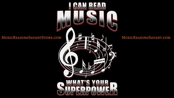 I Can Read Music, What's Your Superpower Music Apparel