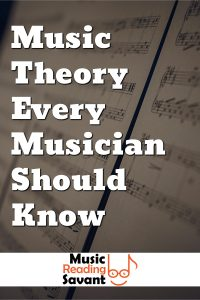 Music theory lessons every musician should know! Free online reading music lessons for beginners from Music Reading Savant.