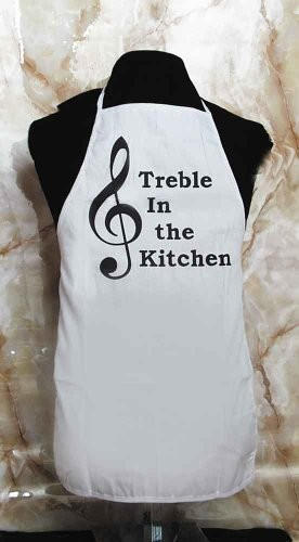 Music Treasures Co. Chef Apron – Treble in the Kitchen